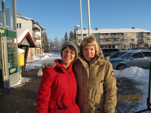 Jag och Elin! ^^