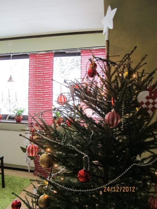 Våran fina julgran!