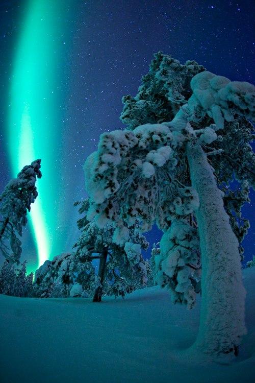 Finland norrsken!