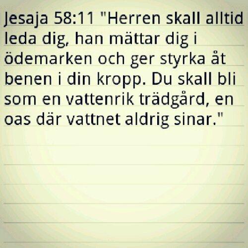 bibelord födelsedag Jesaja 58:11 – Finlandsgullet bibelord födelsedag