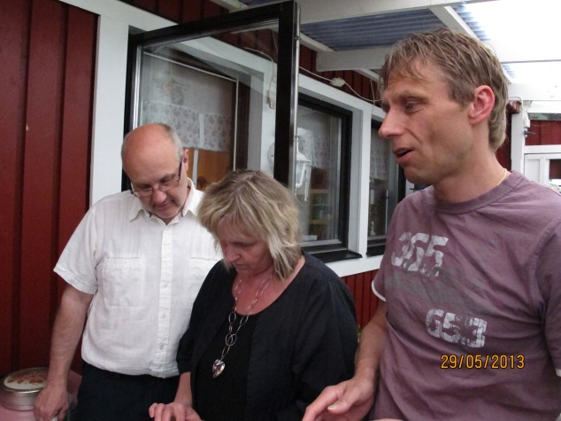 Pappa, faster och fasters man Johan