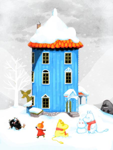 Vinter i mumindalen! (2)