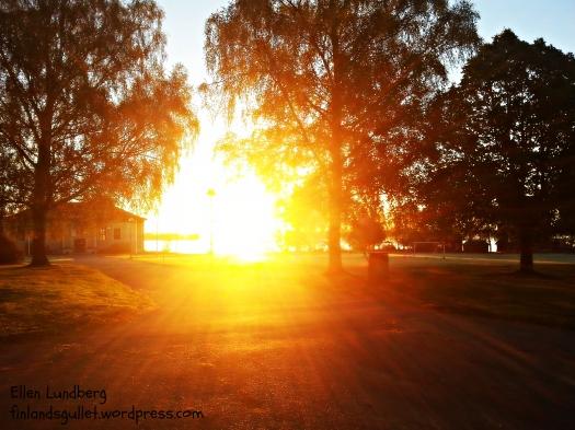 soluppgång vid jubel